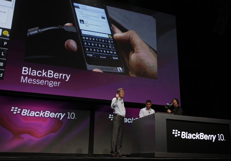 RIM loses BlackBerry subscribers for first time