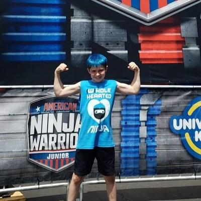 Chase Hughes, 11, American Ninja Warrior Junior Contestant and Heart Warrior, born with Pulmonary Atresia with Ventricular Septal Defect.