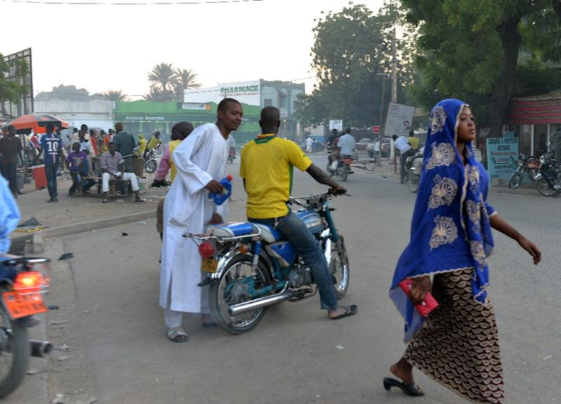 A main street in Maroua, where a suspected suicide bomb attack on July 25, 2015 carried out by a child killed at least 20 people (AFP Photo/Reinnier Kaze)