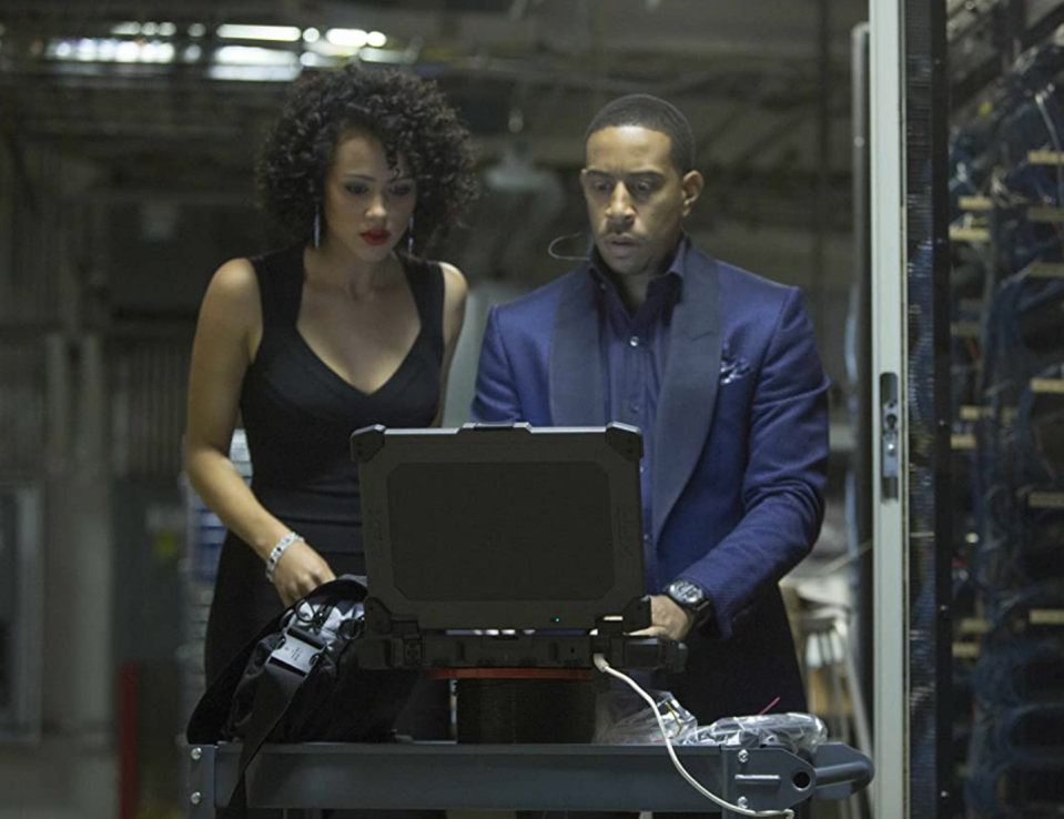 """<p>Nathalie Emmanuel joined the cast of <em>Fast and Furious</em> as Ramsey, the crew's resident hacker, in 2015. Before that, she was on a little show called <em><a href=""""https://www.esquire.com/entertainment/tv/g36111426/best-game-of-thrones-characters/"""" rel=""""nofollow noopener"""" target=""""_blank"""" data-ylk=""""slk:Game of Thrones"""" class=""""link rapid-noclick-resp"""">Game of Thrones</a></em>.</p>"""