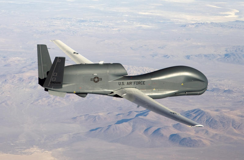 An undated U.S. Air Force handout photo of a RQ-4 Global Hawk unmanned aircraft. (Photo: U.S. Air Force/Bobbi Zapka/Handout/Reuters)