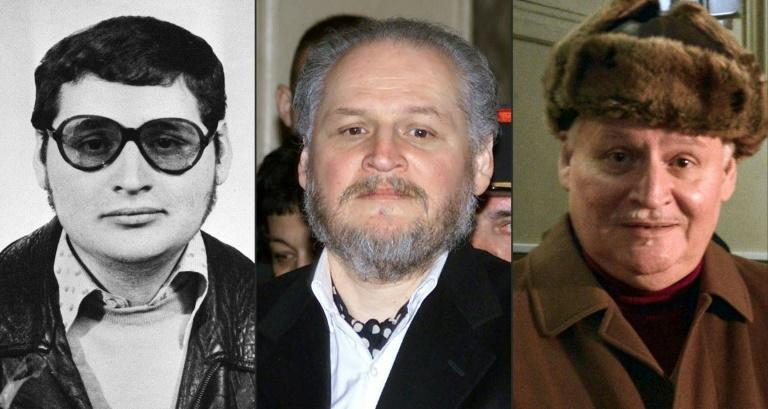 """The many faces of Venezuelan self-styled revolutionary Ilich Ramirez Sanchez, also known as """"Carlos the Jackal"""""""