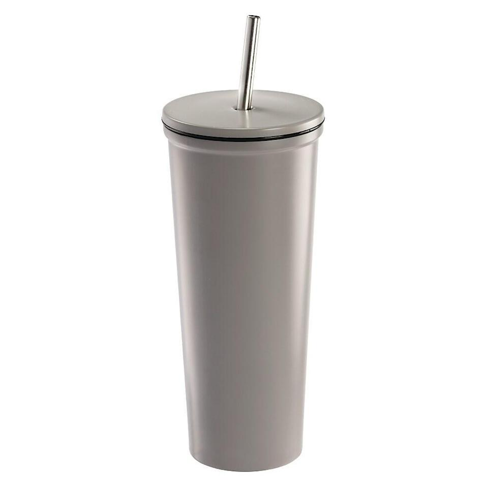 Gry Mattr Stainless Steel Tumbler. (Image via Staples Canada)