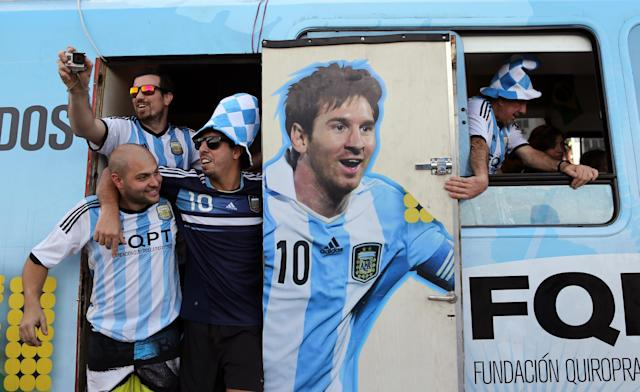 Argentina invasion is on in Rio, whether host nation likes it or not