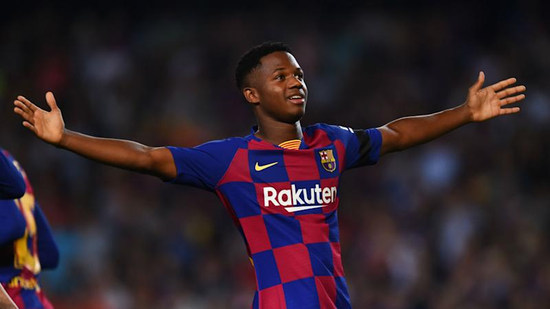Fati's father rules out loan move for Barcelona youngster