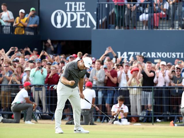 The Open at Carnoustie boosted the Scottish economy by £120m: PA