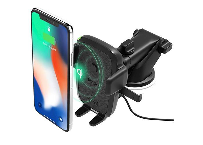iOttie Easy One Touch Wireless Qi Fast Charge Car Mount Kit. (Photo: Amazon)