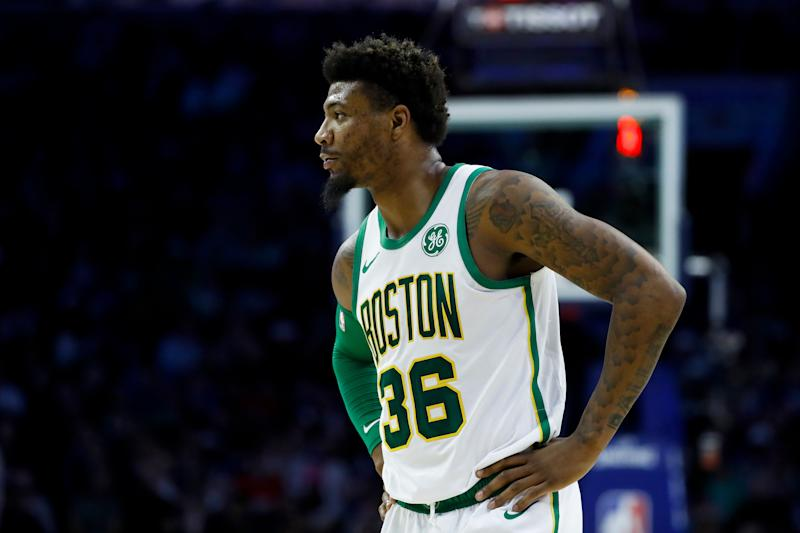 Celtics' Marcus Smart sidelined 4-6 weeks with oblique injury