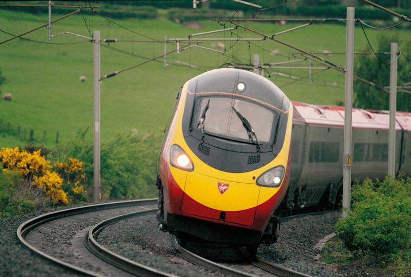 The Azuma trains accelerate faster than any other on the network