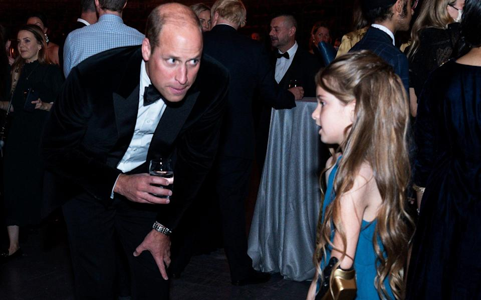 Prince William at the Who Cares Wins Awards - Arthur Edwards/The Sun