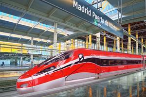 Hitachi and Bombardier to supply 23 V300ZEFIRO (Frecciarossa 1000) very high-speed trains to Trenitalia for operation in Spain