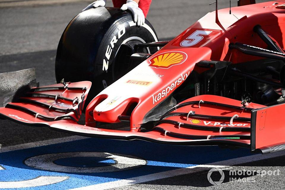 "Ferrari SF1000: Frontflügel<span class=""copyright"">Mark Sutton / Motorsport Images</span>"