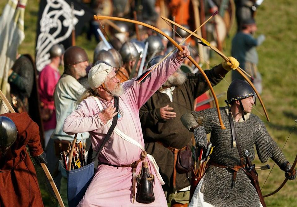 Archers loose their arrows (Gareth Fuller/PA) (PA Wire)