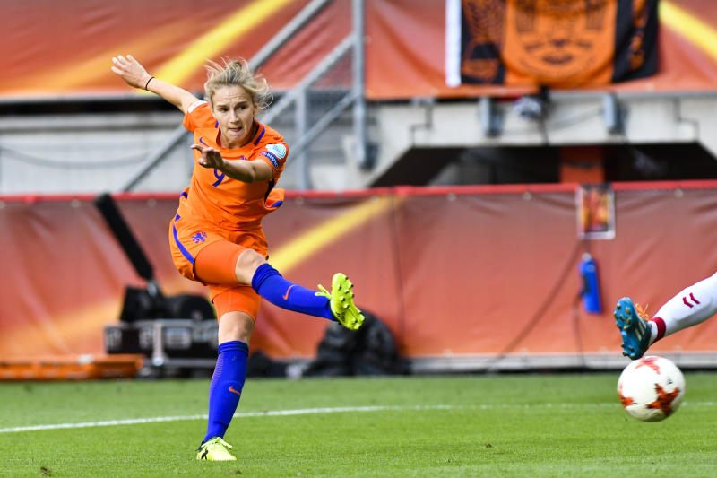 Vivianne Miedema of the Netherlands