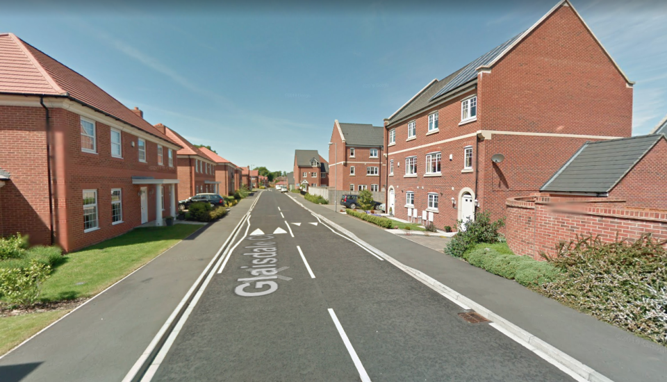 Sophie Moss was found naked and unresponsive at her flat in Glaisdale Court, Darlington, in the early hours of 7 February. (Google Maps)