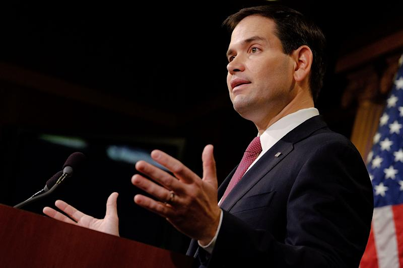 Marco Rubio Pronounced 'Dead' On Wikipedia Page After Getting 'Dunked On' at CNN Guns Town Hall