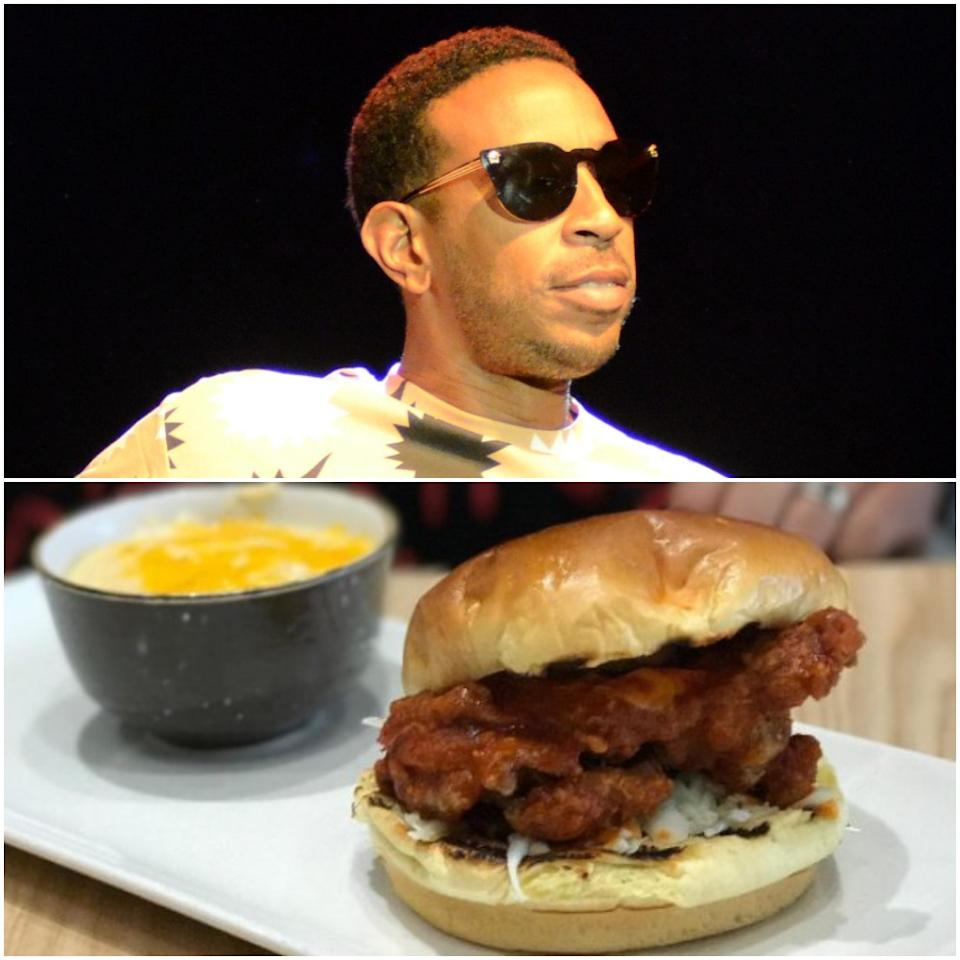 <p>In November 2016, rapper Ludacris opened Chicken + Beer restaurant at Atlanta's Hartsfield-Jackson International Airport. The restaurant, which offers southern classics such as chicken and waffles, battered catfish and shrimp and grits, shares a name with the rapper's multi-platinum 2003 album <em>Chicken N Beer.</em><br />(Canadian Press/Twitter) </p>