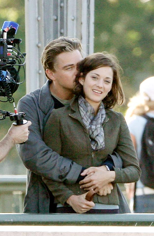 """In the film, Leo plays a CEO who becomes involved in a blackmailing scandal, while Oscar winner Marion Cotillard portrays his wife. KCSPresse/<a href=""""http://www.splashnewsonline.com"""" target=""""new"""">Splash News</a> - August 17, 2009"""