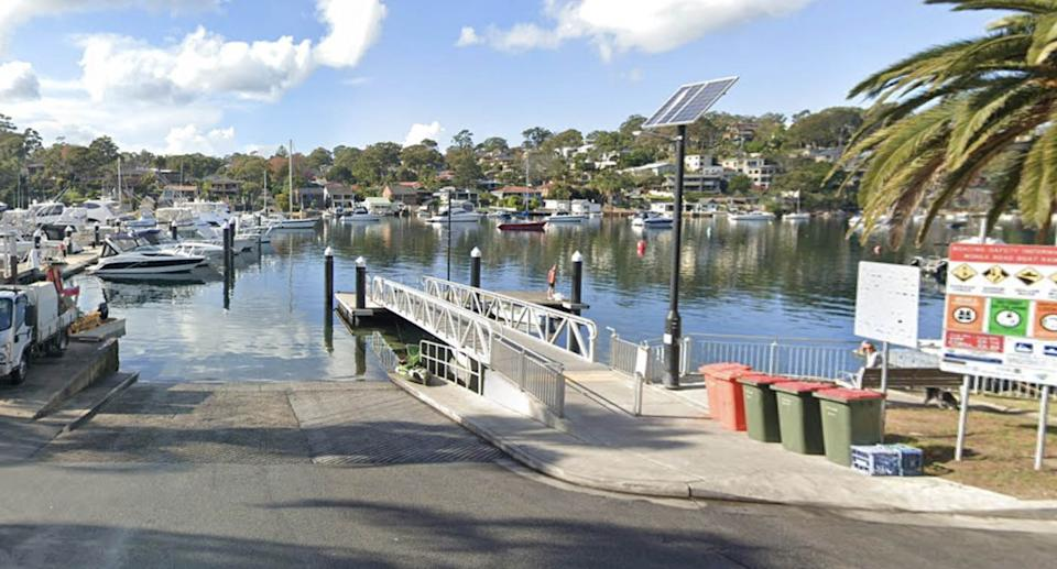 Yowie Bay is pictured.