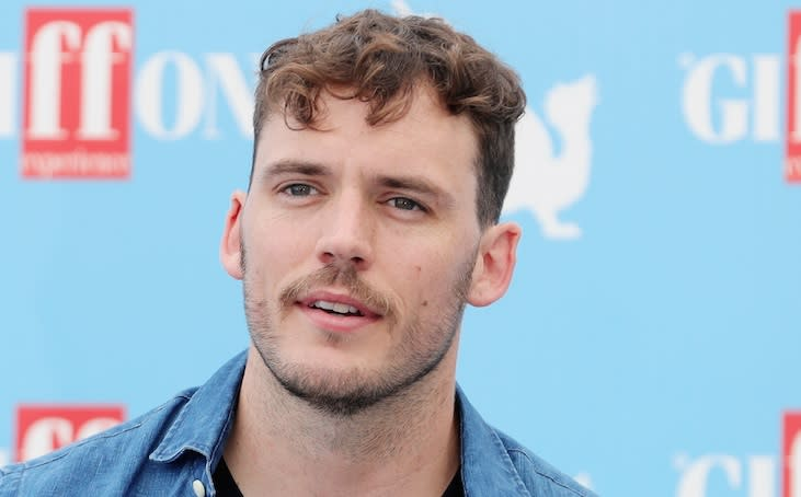 """Hunger Games"" actor Sam Claflin on why he likes to be ""friends first"" before dating someone"