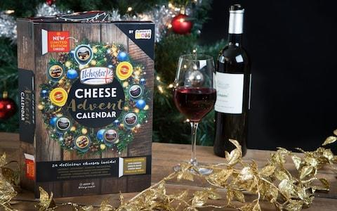 Ilchester Limited Edition Cheese Advent Calendar   - Credit: Sainsbury's