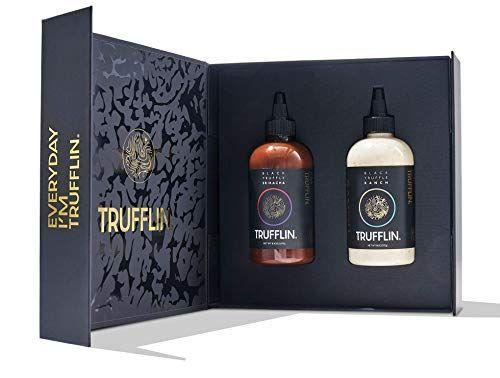 "<p><strong>Trufflin</strong></p><p>amazon.com</p><p><strong>$47.99</strong></p><p><a href=""https://www.amazon.com/dp/B08K3KRWYM?tag=syn-yahoo-20&ascsubtag=%5Bartid%7C10055.g.21271459%5Bsrc%7Cyahoo-us"" rel=""nofollow noopener"" target=""_blank"" data-ylk=""slk:Shop Now"" class=""link rapid-noclick-resp"">Shop Now</a></p><p>Standard truffle oil has nothing on this sauce duo. Here, his go-to condiments are infused with umami-packed black truffle, adding even more flavor to his fries, burgers, or whatever else he's munching on. </p>"