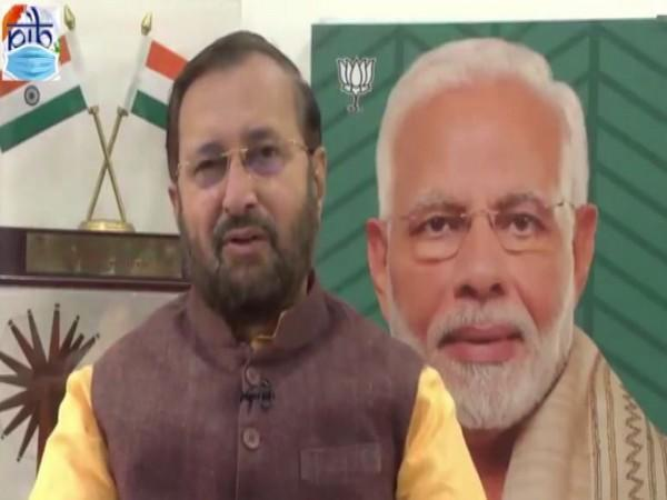 Union Minister Prakash Javadekar (Photo/ANI)