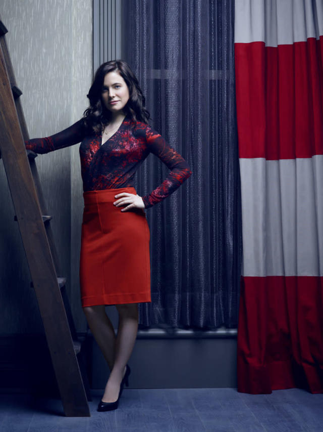 "Caroline Dhavernas as Dr. Alana Bloom in ""Hannibal"" on NBC."