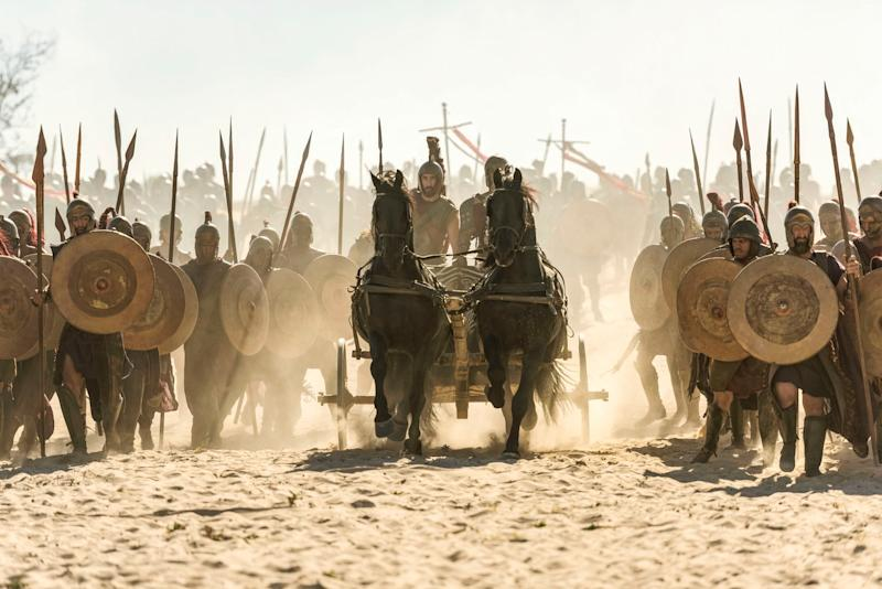 New series: Troy:Fall of a City is coming to BBC One: BBC
