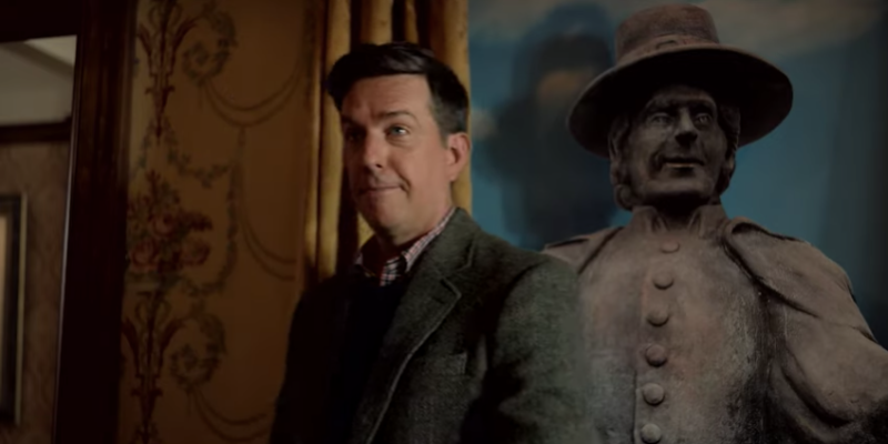 Ed Helms as Nathan Rutherford in Rutherford Falls