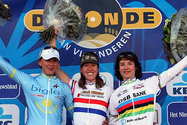 Nicole Cooke wins the 2007 Tour of Flanders Women