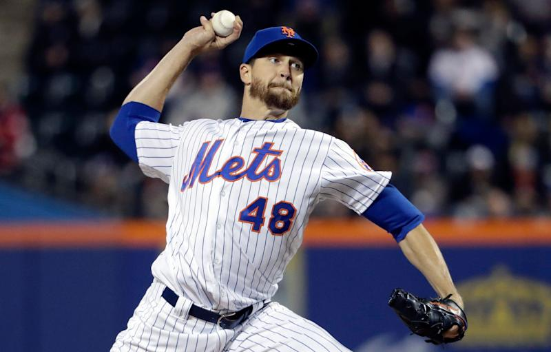 Mets' deGrom slated to undergo MRI exam