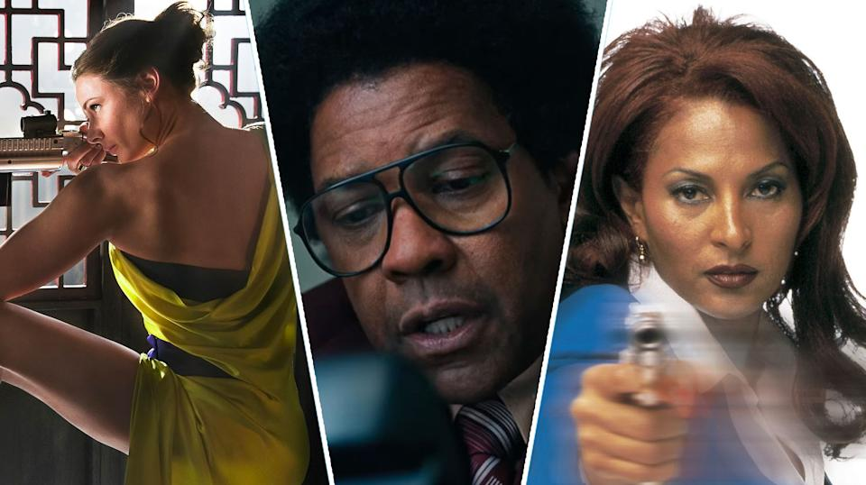 Mission: Impossible - Rogue Nation, Roman J Israel Esq, Jackie Brown.