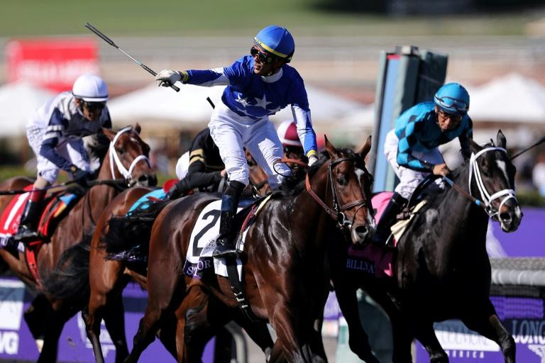 Structor Gives Brown Breeders Cup Juvenile Turf Win
