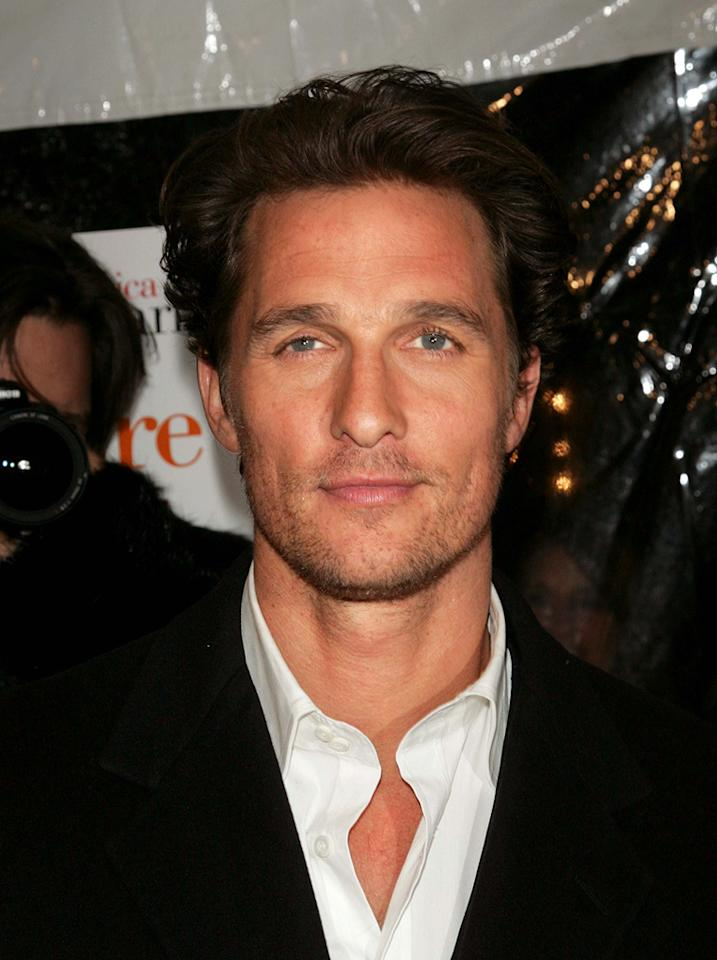 """<a href=""""http://movies.yahoo.com/movie/contributor/1800018907"""">Matthew McConaughey</a> at the New York premiere of <a href=""""http://movies.yahoo.com/movie/1808722048/info"""">Failure to Launch</a> - 03/08/2006"""