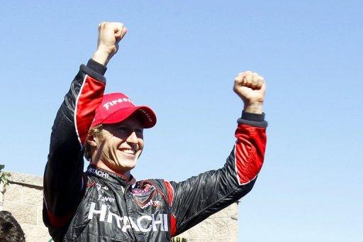 Ryan Briscoe earned his first win of the season at the Sonoma IndyCar Series race