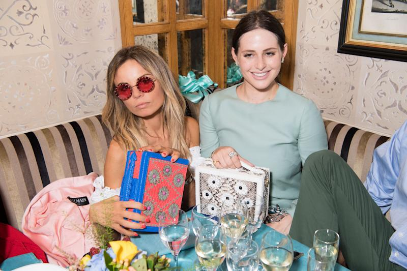 PARIS, FRANCE - JULY 04: Alexa Dell attends Ximena Kavalekas and Margherita Missoni Lunch In Paris During Haute Couture on July 4, 2018 in Paris, France. (Photo by Daniele Venturelli/Daniele Venturelli/Getty Images)