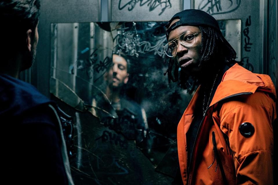 """<em><strong>Dealer</strong></em> (2021)<br><br>If you're after a fast-paced thriller, then<em> Dealer </em>is the film for you. When a music video director attempts to film a drug dealer turned rapper for a documentary project, things soon start to go wrong. Using his camera to document the ongoing gang war in a French neighbourhood, he quickly becomes involved in issues far bigger than he ever expected. <br><br>Available 10th March<span class=""""copyright"""">Photo Courtesy of Netflix.</span>"""