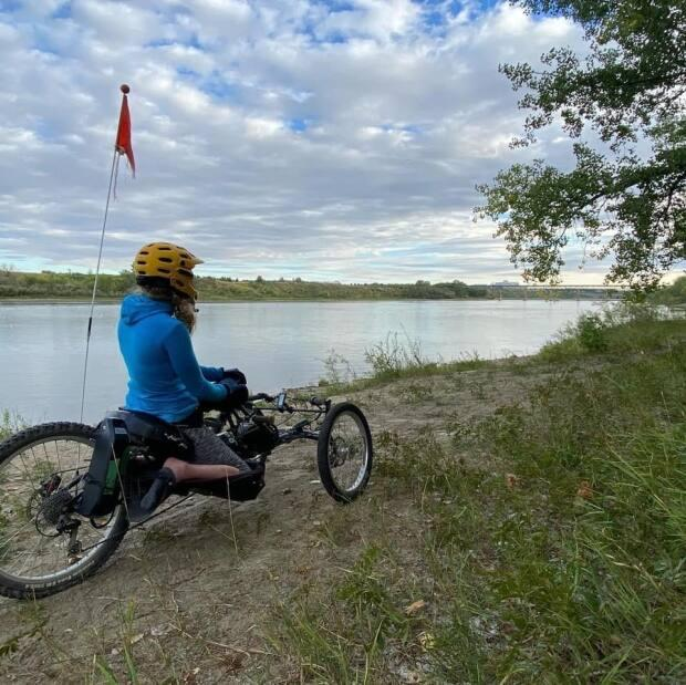 Franks enjoys exploring the trails around Saskatchewan with her friends, family and fellow club members.