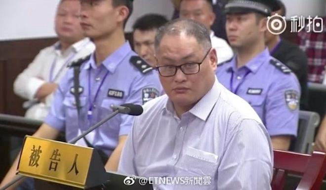 Taiwanese rights activist Lee Ming-che was sentenced to five years in prison by a court in central China in 2017. Photo: Weibo