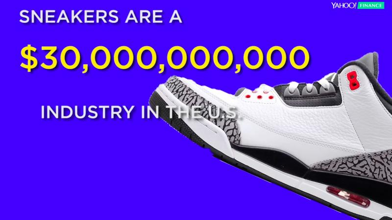 A teenager explains how to make money trading sneakers