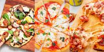 """<p>Pizza is, and will always be, one of our favourite Italian inventions (asides from a certain number of <a href=""""https://www.delish.com/uk/cooking/recipes/g33642767/easy-pasta-recipes/"""" rel=""""nofollow noopener"""" target=""""_blank"""" data-ylk=""""slk:pasta dishes"""" class=""""link rapid-noclick-resp"""">pasta dishes</a>, obvi). Especially when it's made from scratch. A-huh, we're talking about all kinds of homemade pizzas. Whether it's your classic <a href=""""https://www.delish.com/uk/cooking/recipes/a30686833/homemade-pizza-recipe/"""" rel=""""nofollow noopener"""" target=""""_blank"""" data-ylk=""""slk:Margarita Pizza"""" class=""""link rapid-noclick-resp"""">Margarita Pizza</a>, <a href=""""https://www.delish.com/uk/cooking/recipes/a32593647/best-buffalo-chicken-pizza-recipe/"""" rel=""""nofollow noopener"""" target=""""_blank"""" data-ylk=""""slk:Buffalo Chicken Pizza"""" class=""""link rapid-noclick-resp"""">Buffalo Chicken Pizza</a> or even a <a href=""""https://www.delish.com/uk/cooking/recipes/a32638612/mexican-pizza-recipe/"""" rel=""""nofollow noopener"""" target=""""_blank"""" data-ylk=""""slk:Mexican-Style Pizza"""" class=""""link rapid-noclick-resp"""">Mexican-Style Pizza</a>, there's no denying how good it feels to make your very own. And so, if you're looking for a pizza-inpiration (see what we did there?), then look no further! Because we've got lots and lots of easy pizza recipes for you to give a go. Happy pizza making!</p>"""