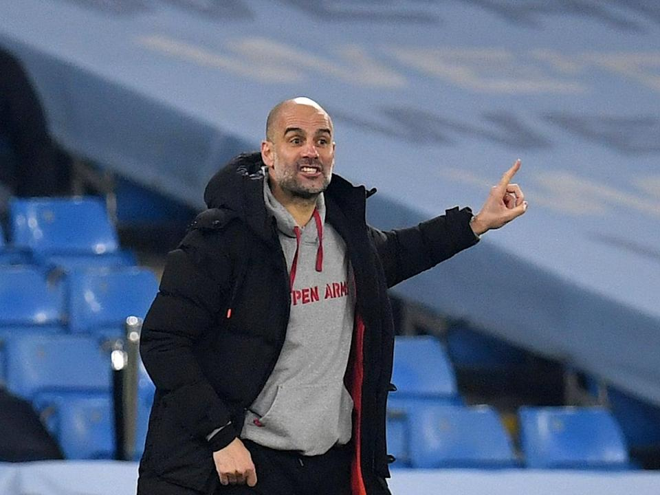 <p>Pep Guardiola is hopeful the presidential elections will spark a new era at Barcelona</p> (Getty)