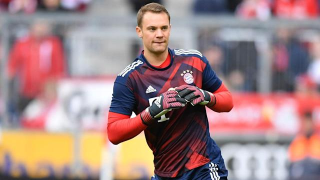 The Germany goalkeeper has been included in the squad for the first time since September last year following his recovery from foot surgery