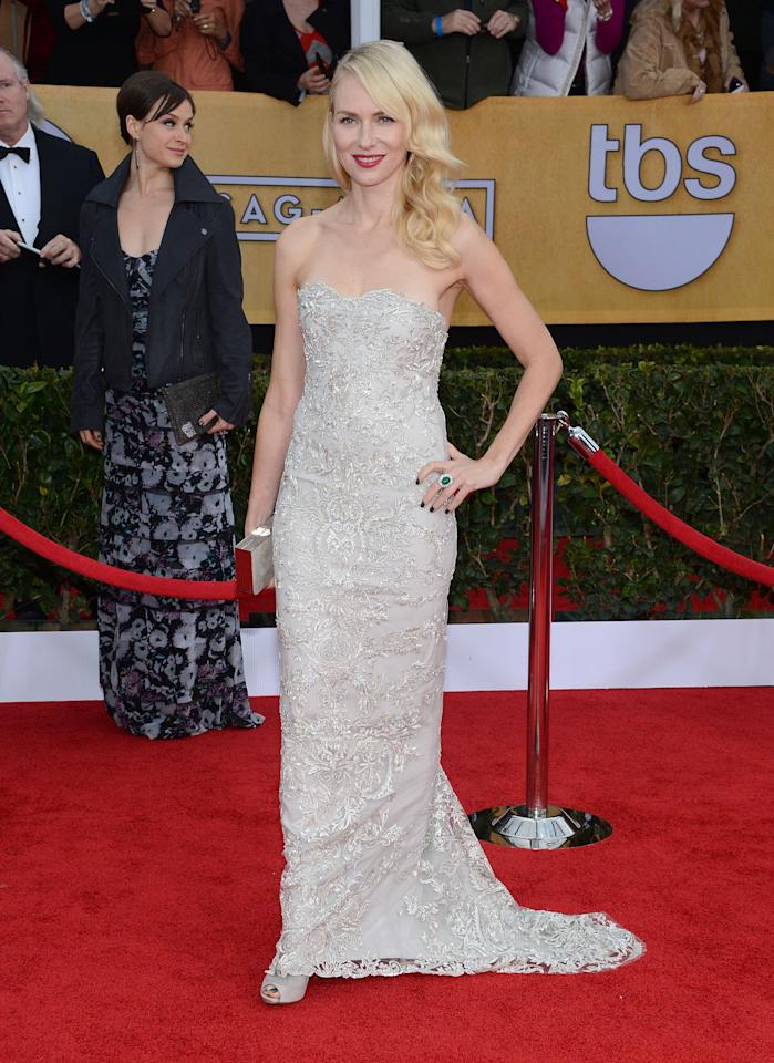 LOS ANGELES, CA - JANUARY 27:  Actress Naomi Watts attends the 19th Annual Screen Actors Guild Awards at The Shrine Auditorium on January 27, 2013 in Los Angeles, California.  (Photo by Jason Kempin/Getty Images)