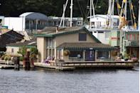 <p>While Tom Hanks doesn't *actually* live there, fans of the '90s classic can still visit the houseboat used in the movie. It's actually a stunning 4-bedroom, 2-bathroom and sold for more than $2 million back in 2014. Just be sure to be quiet and respectful, though, since this is a privately owned home. </p><p>2460 Westlake Ave N Seattle, WA 98109</p>