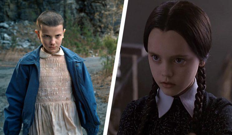 Millie Bobby Brown as Wednesday Addams? - Credit: Netflix/Paramount