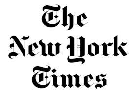 The New York Times logo FEATURED