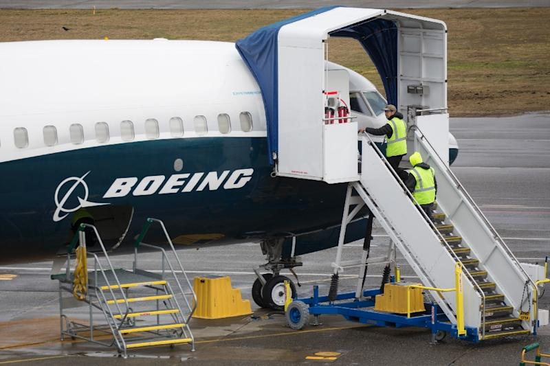 Boeing is struggling to cope with the fallout from two deadly crashes that have cast a spotlight on the safety certification process and shaken confidence in its 737 Max 8 model that is crucial to its future plans (AFP Photo/Jason Redmond)