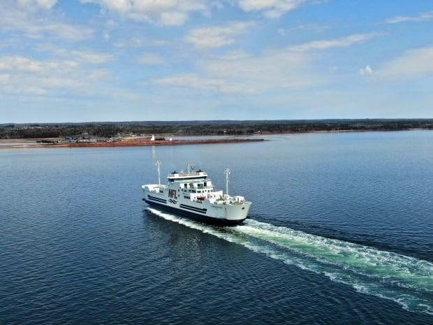 MV Confederation will be the only ferry in operation until June.